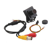 HD 700TVL Sony CCD OSD D-WDR Mini CCTV PCB FPV Wide Angle Camera 2.1mm NTSC