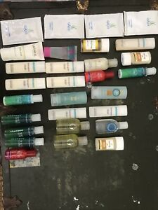 Mixed Lot Of 29  Hotel Size 9 Conditioner 16 Shampoo 4 Body Wash Free Shipping