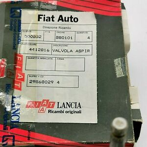 Kit valvole aspirazione Fiat 127 Sport 1050 cc 70 cv  originali Intake valves