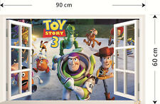 Toy Story Window Wall Stickers Decal Vinyl Kids Children Bedroom Home Decoration