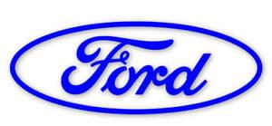 Ford Oval Vinyl D ecal, Ford Oval D-ecal, Vinyl Car Stick3r, Ford Cosworth, xr4i