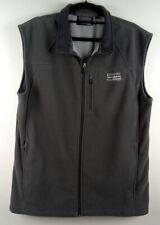 Kathmandu Men's Grey Wind Fleece Zip Pockets Vest Size L