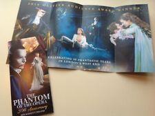 1 flyer / handbill Phantom of the Opera. 30th Anniversary 2017