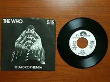 """*PROMO* THE WHO 5:15 7"""" 45RPM w/Picture Sleeve Stereo POLYDOR PD 2022"""