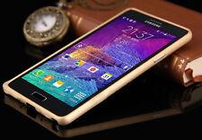 Oro Marco De Aluminio Metal Bumper Funda Protectora Para Samsung Galaxy Note 4 N910