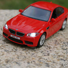 BMW M5 5 Inch Model Cars 1:36 Toys Cars Gifts Alloy Diecast Sound&Light Red New