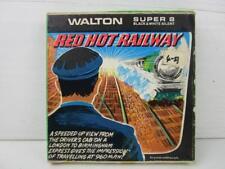 Super 8 mm Walton Film No B.574 Red Hot Railway B&W Silent - Boxed