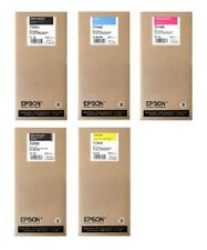 5 Original Ink Epson Stylus pro 7700 7890 9700 9900/T5961 T5962 -t5964 T5968