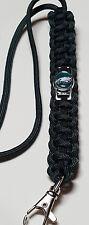 Philadelphia Eagles Handmade Paracord Lanyard OR Deluxe Key Chain OR Bracelet