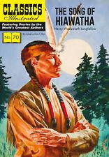 Classics Illustrated The Song of Hiawatha - Modern #70 (Wadsworth Longfellow)