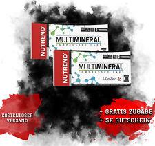 2x NUTREND Multimineral Compressed Caps 60x2=120Kap, Mineralstoffe,ZMA, Basen B1