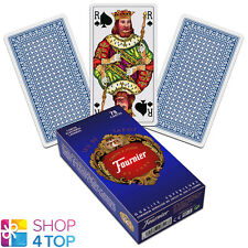 FRENCH TAROT DECK FOURNIER 78 PLAYING CARDS BLUE JEU DE NEW