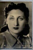 CATARINETTA LESCANO Cantante Attrice 1950s ITALY Real Photo PC Vera foto