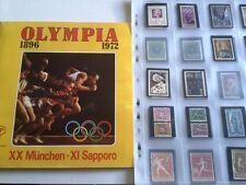 PANINI OLYMPIA 1896/1972  - francobolli / stamp a scelta n.1/90 recupero OTTIMI