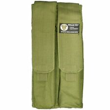 Bulle Olive MOLLE Webbing Tactical Tall Double Mag Pouch P90 UMP Rods Utilities