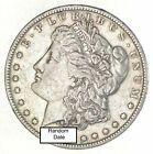 Bulk Lot VF-XF (1) 1878-1904 P/O/S Morgan Silver Dollar 90% Eagle Collection
