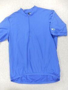 Canari Half Zip Cycling Jersey (Mens XXL) Blue