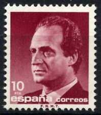 España 1985-92 SG#2818, 10p el rey Juan Carlos I estampillada sin montar o nunca montada definitiva #D64389