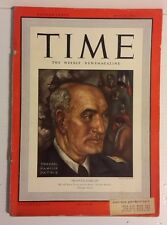 May 26 1941 TIME Magazine- France's Darlan on Cover- News/Photos/Ads
