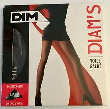 Dim's Sheer Black Panty Hose - Brand new - France - Size B