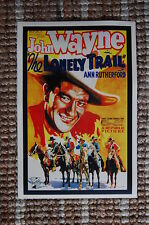 The Lonely Trail Lobby Card Movie Poster Western John Wayne