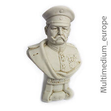 Bisquit Porzellan Figur Hindenburg Militaria porcelain figure 1. WK 🌺🌺🌺🌺🌺