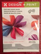 Momenta Design + Print Fortune Cookie Party Favor (20) Design Online - NEW