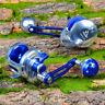 1Pc Aluminum CNC Machined Fishing Jigging Reel Trolling Reel Casting Wheel Reel