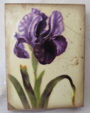 Sid Dickens Memory Tile, T-258 Iris Royale - RETIRED - NEW (102)