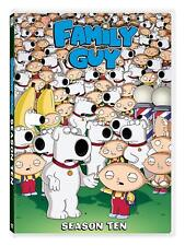 Family Guy - Tenth Season DVD New Free Shipping