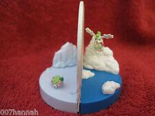Pokemon-Figur/Zukan:Shaymin/Skyform/Landform/gebraucht/Yujin/Scale 1:40