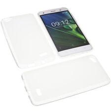 Tasche für Acer Liquid Z6E Handytasche Schutz Hülle TPU Gummi Case Transparent