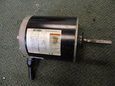 York Commercial Motor 19E045W120G1 0.5HP 350/1140RPM 56Z Frame Used