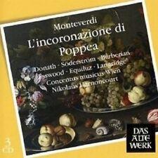 """N. HARNONCOURT """"L´INCORONAZIONE DI POPPEA (GA)"""" 3 CD"""