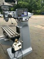 """Refurbished Bridgeport Milling Machine 1HP With DRO 9""""x42"""" Table"""