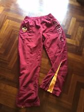 PANTALONE ROMA ROBE DI KAPPA CALCIO PANTS TROUSERS TUTA FOOTBALL NO SHIRT