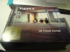 RAR BOX. YAZOO. IN YOUR ROOM. 3 CD'S & DVD & BOOK
