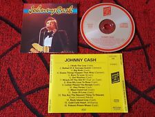 JOHNNY CASH *** Same *** RARE & ORIGINAL 1987 France CD