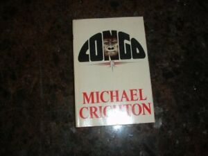 Congo Hardcover Michael Crichton