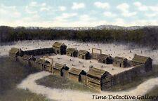 Boonesboro, Kentucky's First Fort Built 1775 by Daniel Boone - Art Print