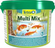 Tetra Pond Multi Mix 10 Liter Eimer / Teich Fischfutter Sticks Flocken