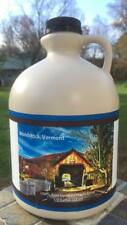 """""""Our Town"""" Series Vermont Maple Syrup 1/2 Gallon WOODSTOCK"""