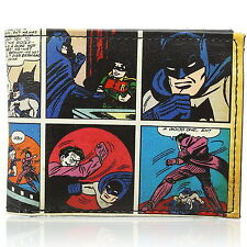 NEW OFFICIAL DC Comics Batman Classic Comic Vintage Card Coin Wallet
