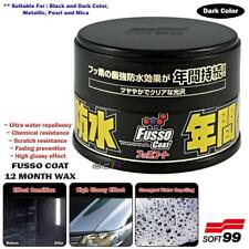 Soft99 Fusso Coat 12 Months Waterproof PTFE Car Wax Sealant For Dark Color Car