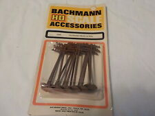 Bachmann HO Scale Accessories  TELEPHONE POLES   2200 New on Card 12 pieces