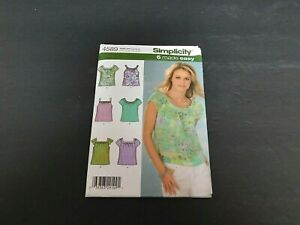 2005 Simplicity Pattern #4589 Size HH 6-12 NOS UNCUT