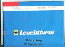 25 FEUILLES LEUCHTTURM SF FRANCE 2013 UNIQUEMENT TIMBRES ET CARNETS