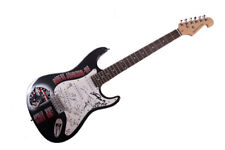 Robert Johnson Autographed Airbrushed Guitar UACC RD AFTAL