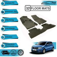3D Molded Interior Protector Floor Mats Liner Fit for Dacia Sandero 2012>UP