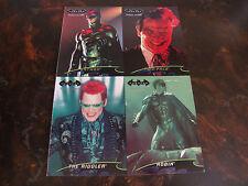 Fleer Ultra---Batman Forever---Promo---Uncut Sheet---5x7---4 Cards---1995---NrMt